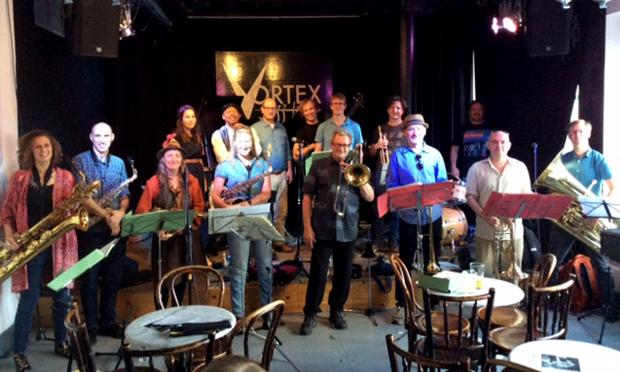The John Bennett Band at a prior Vortex engagement. Photograph: Vortex Jazz Club
