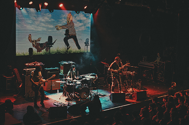 The Tera Melos live experience. Photograph: Colin Eldridge