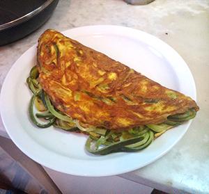 Frittata con zucchina. Photograph: Franco Dal Molin via Flickr