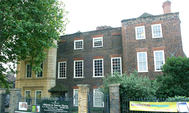 """""""A kingdom of her own in Hackney"""": Sutton House. Image: Wikimedia Commons"""