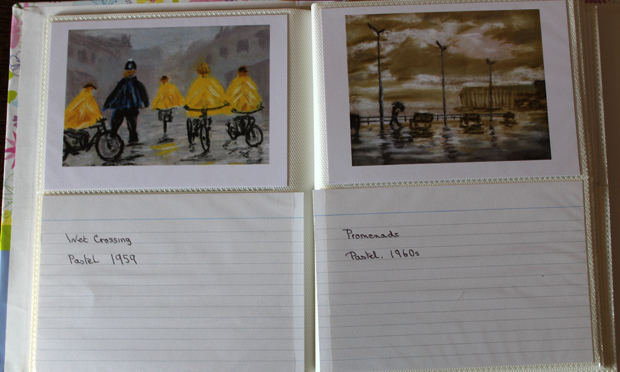 Prints of Wet Crossing and Promenade by Peter Gosnell