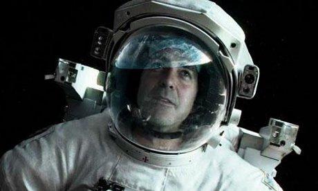 Atmospheric: George Clooney in Gravity