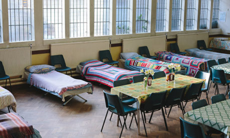 Hackney Winter Night Shelter ready for our guests. (Photograph: Paul Driver)