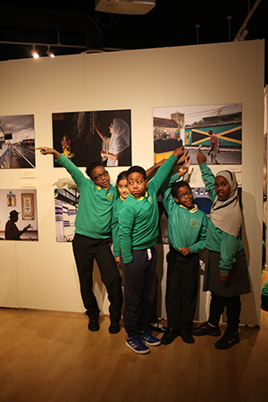 Princess May Primary School students helped launch the Council's Black History Season earlier this month. Photograph: Hackney Council