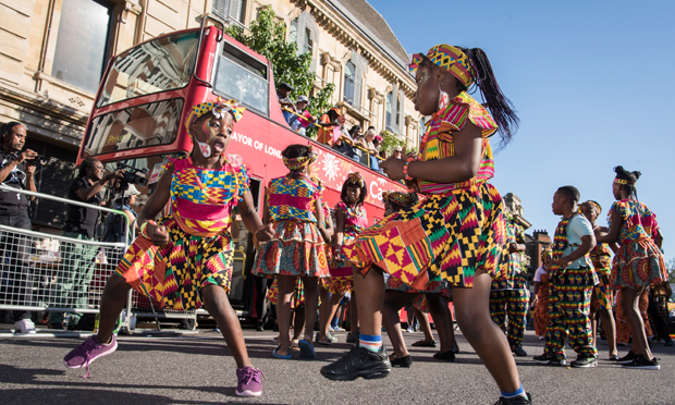 Festivities: the view from Mare Street of last year's Hackney One Carnival. Photograph: Hackney Council