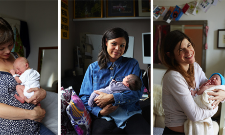 Images from Jenny Lewis' One Day Young project. Photographs: Jenny Lewis