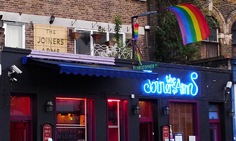 The Joiners Arms on Hackney Road. Photograph: Ewan Munro (creative commons)