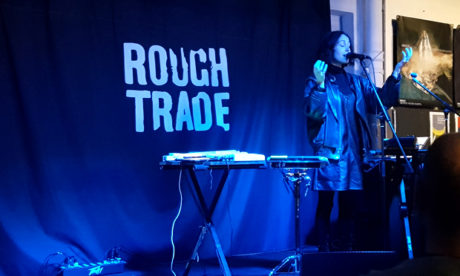 Kelly Lee Owens 'stirs and mesmerises' at Rough Trade East.