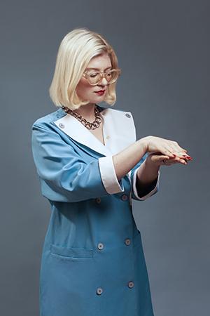 Mary Ocher. Photograph: Sven Serkis