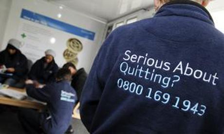 NHS stop smoking service