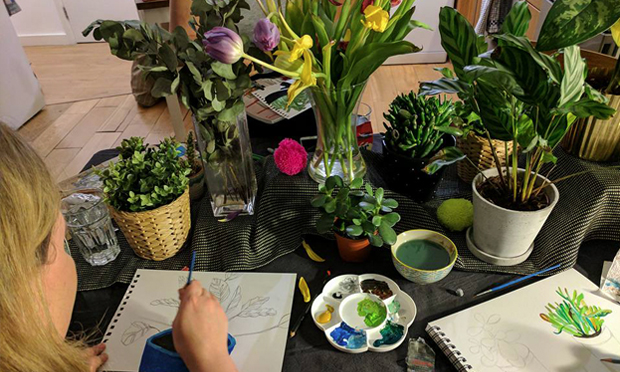 Green fingers: the next Not-So-Still Life will focus on Botanical Drawing