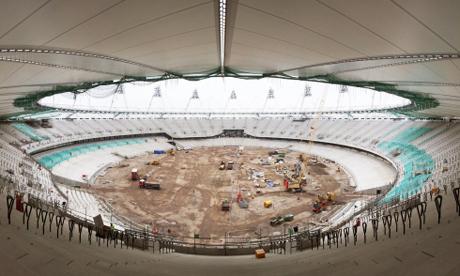 Panoramic view of the Olympic Stadium