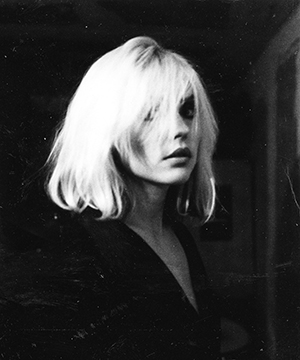 Gorton took this shot of Blondie's Debbie Harry, a regular Lower East Side fixture in 70s NYC. Photograph: Julia Gorton