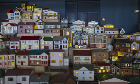 Place (Village) by Rachel Whiteread, in situ at the Museum of Childhood. Photograph: Victoria and Albert Museum, London.