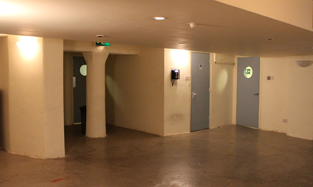 The Rio's basement space, which is set to host its second screen