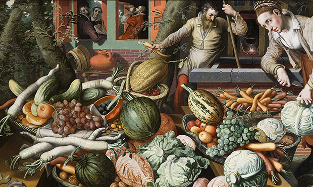 Market scene from 1550s by Peter Aertsen. Image: Wikimedia (Creative Commons)