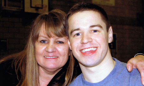 Sam Hallam and his mother Wendy