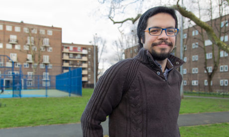 Greeen party candidate Samir Jeraj