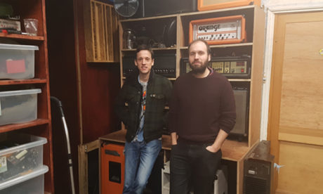 Sound Savers' Henry Withers (left) and Mark Jasper (right.)