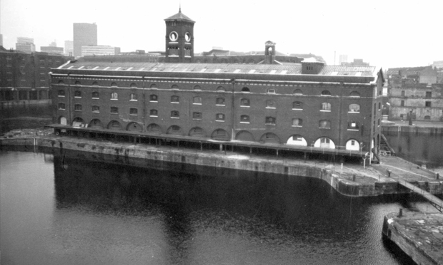SPACE's first building was I-Site at St. Katherine Docks, Wapping. Photograph: Douglas Smith