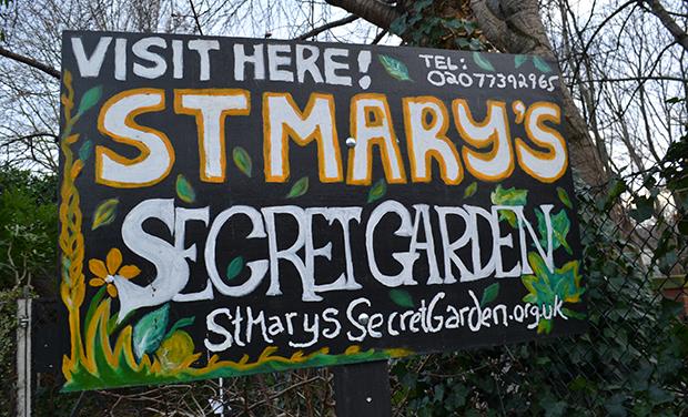 St Mary's Secret Garden