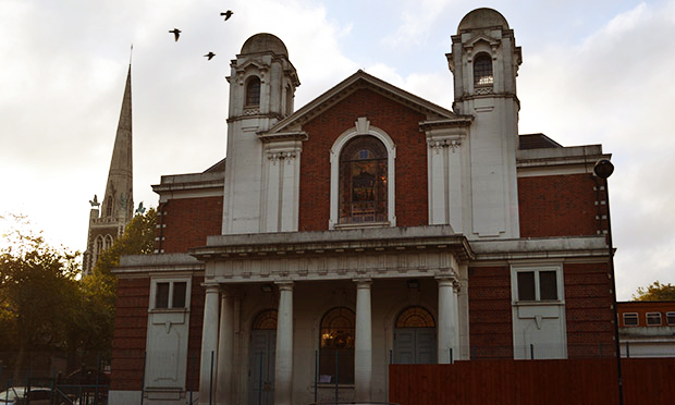 Talmud Torah Tashbar was operated from a site behind Stamford Hill's New Synagogue