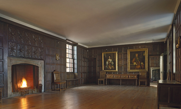 Sutton House's Great Chamber. Photograph: National Trust
