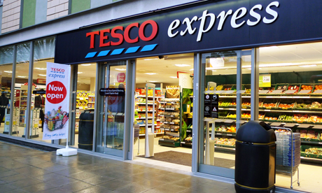 Tesco Express opened today on Lower Clapton Road E5. Photo: Emily Webber