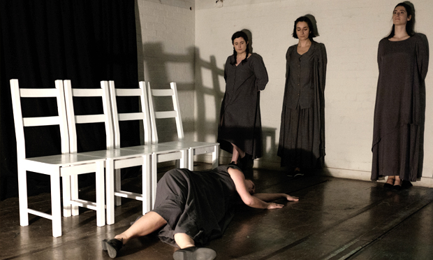 """The four women are at the heart of this play"": The Unburied: The Saint of Darkness. Photograph: Luca Migliore"