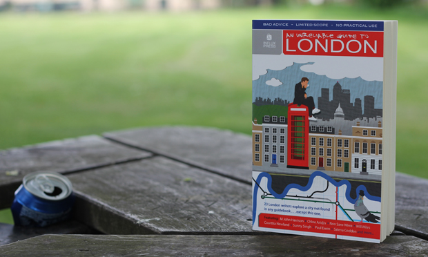 """""""Top-notch city writing"""" - An Unreliable Guide to London. Photograph: Timothy Cooke"""