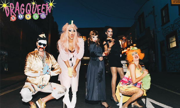Yas queens: Drag Queen Bingo comes to Number 90, Hackney Wick, for some canalside carnage this Valentine's