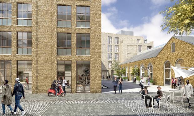 Hackney Wick £10m regeneration Stockwool