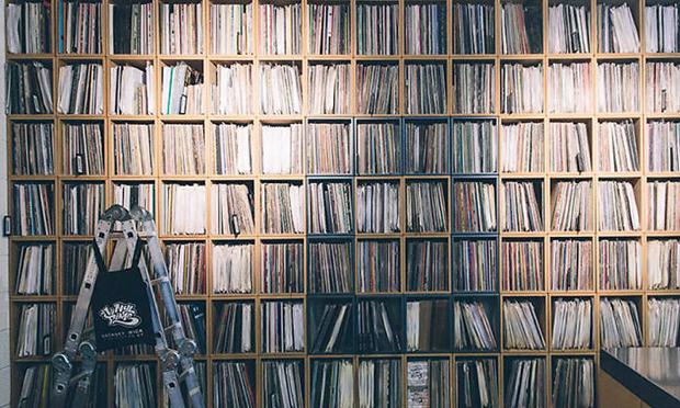 Vinyl Pimp. Photograph: Vinyl Pimp