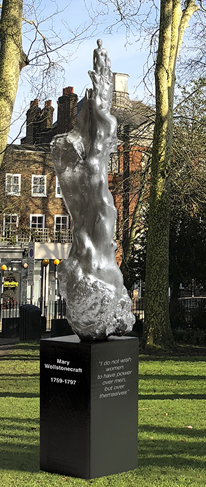 'Metaphor': Hambling's work, as installed