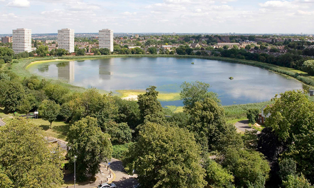 Stoke Newington East Reservoir woodberry wetlands